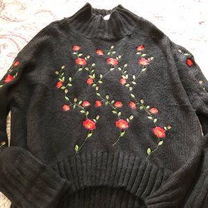 Umgee brand, oversized turtleneck sweater